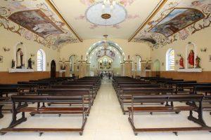 capela das graças águas de lindoia vista interna