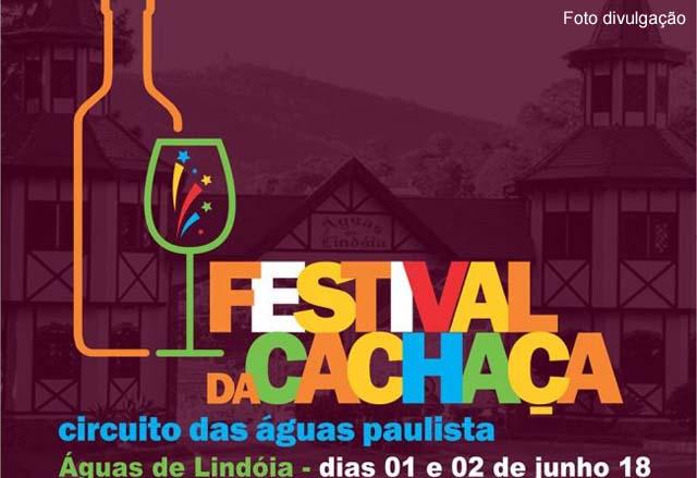 Festival da Cachaça em Águas de Lindoia