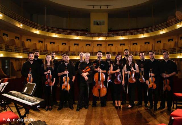Orquestra de Câmara se apresenta com clássicos de Vivaldi em Águas de Lindoia dia 22 de julho de 2018
