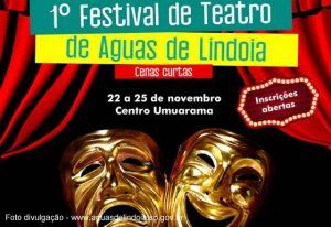 Prefeitura de Águas de lindoia abre inscrições para Festival de Teatro