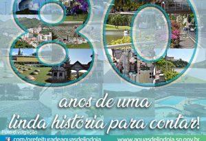 Águas de Lindoia comemora 80 anos de emancipação com show de Mazinho Quevedo