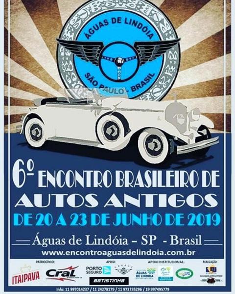 6o. Encontro Brasileiro de Autos Antigos de 2019