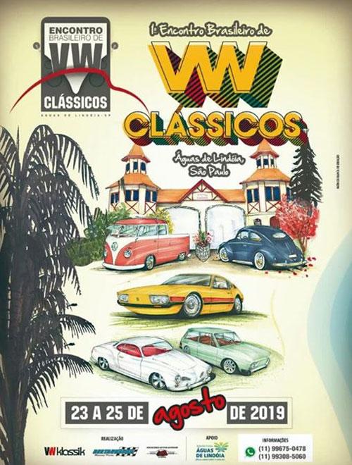 1o. encontro brasileiro VW de clássicos 2019 em águas de lindoia