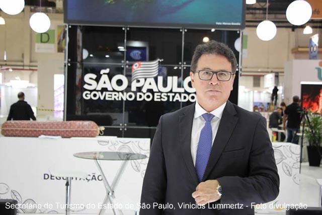 Secretario de Turismo do Estado de Sao Paulo Vinicius Lummertz