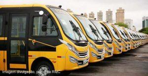 ônibus escolares cidades Região Metropolitana de Campinas